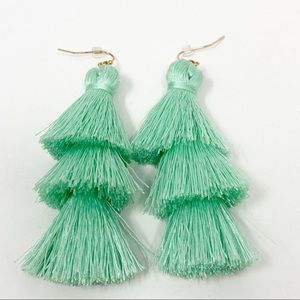 Boho Tassel Earrings 3 Tiers